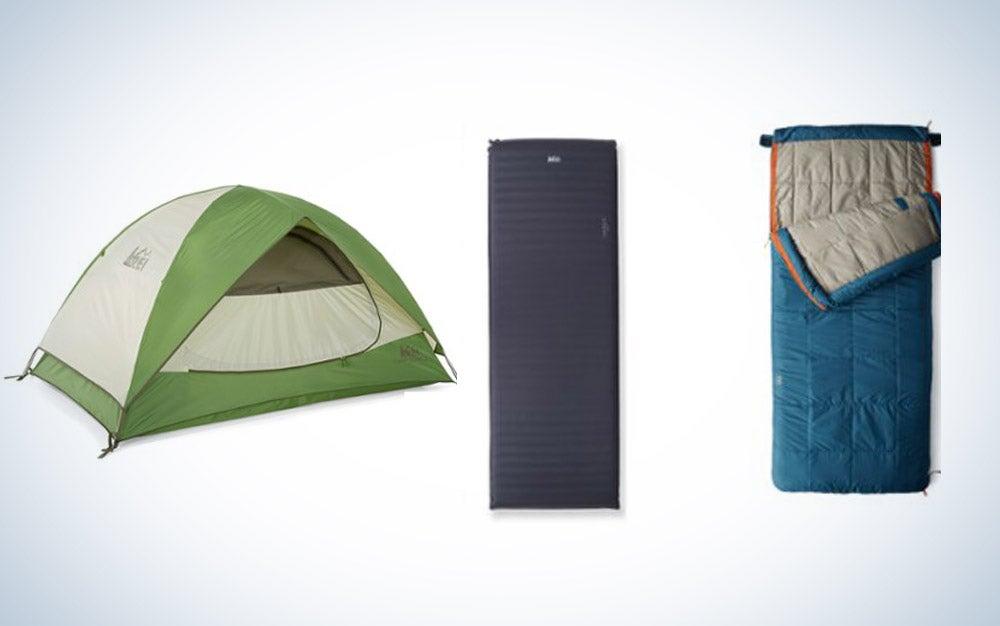 Co-op camping set