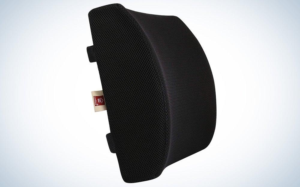 A lumbar support pillow