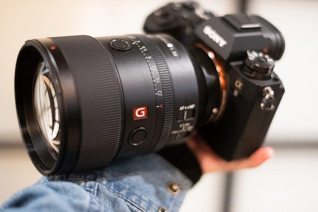 Sony FE 135mm F1.8 GM lens