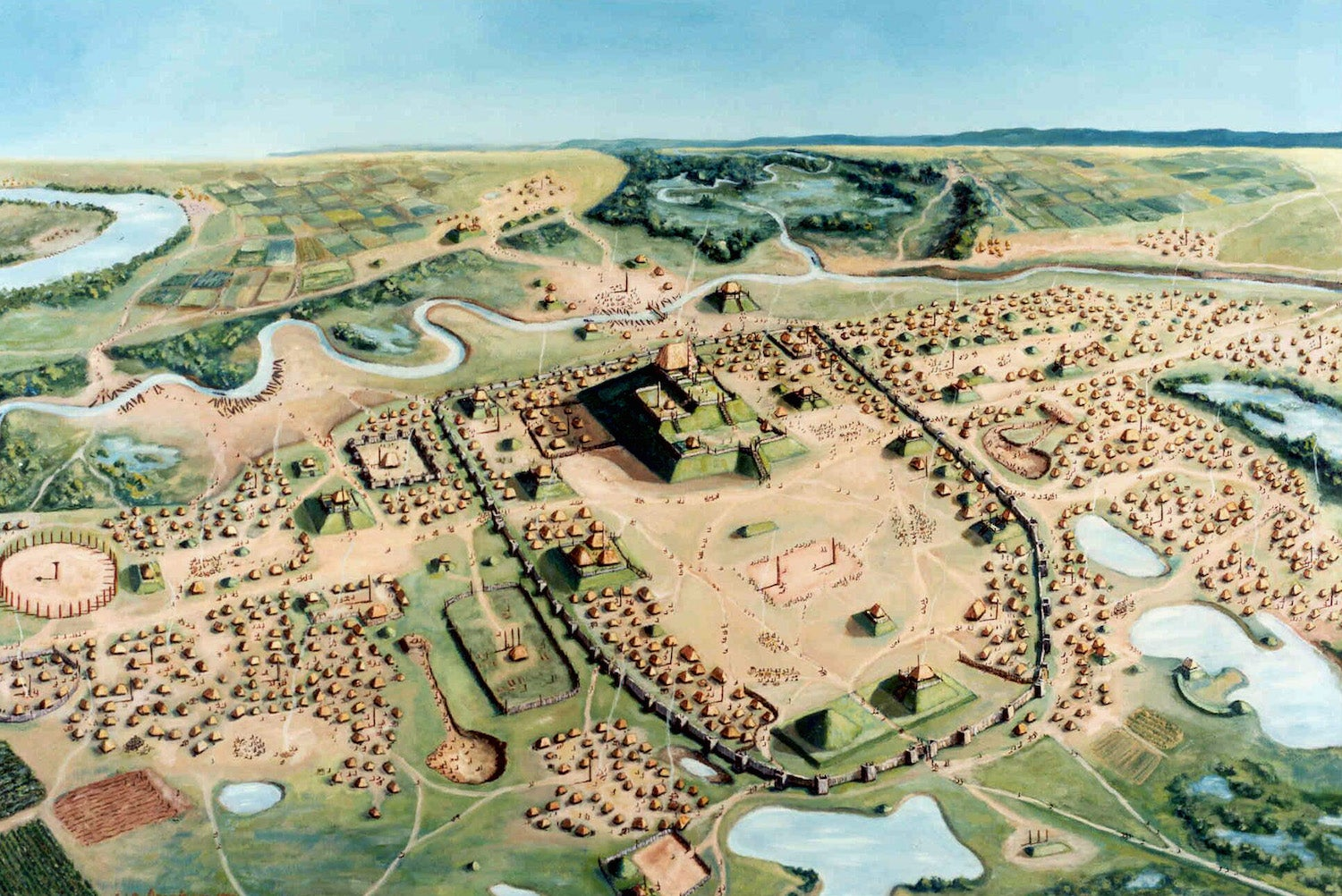 Ancient poop is helping archaeologists understand a midwestern city's demise