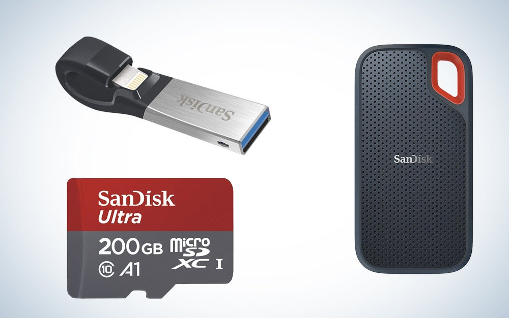 WD, SandDisk, and G-Technology