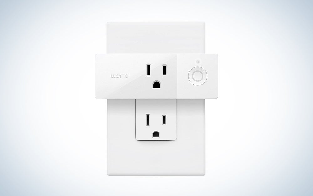 WeMo smart outlet