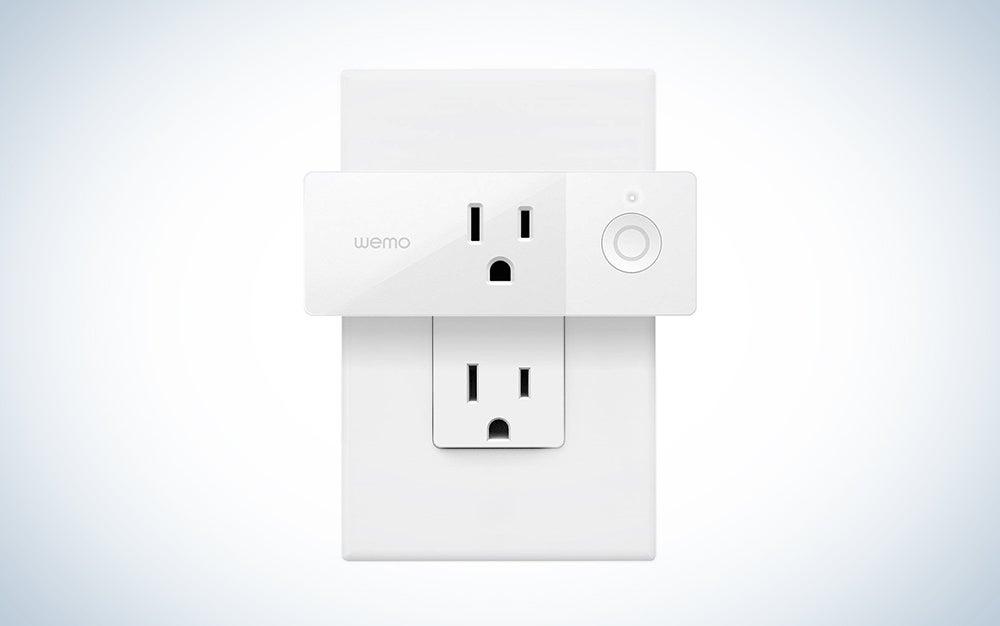 WeMo smart outlet