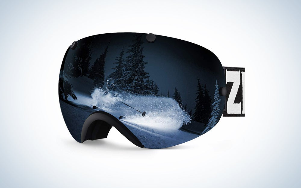 Zionor ski and snowboard goggles