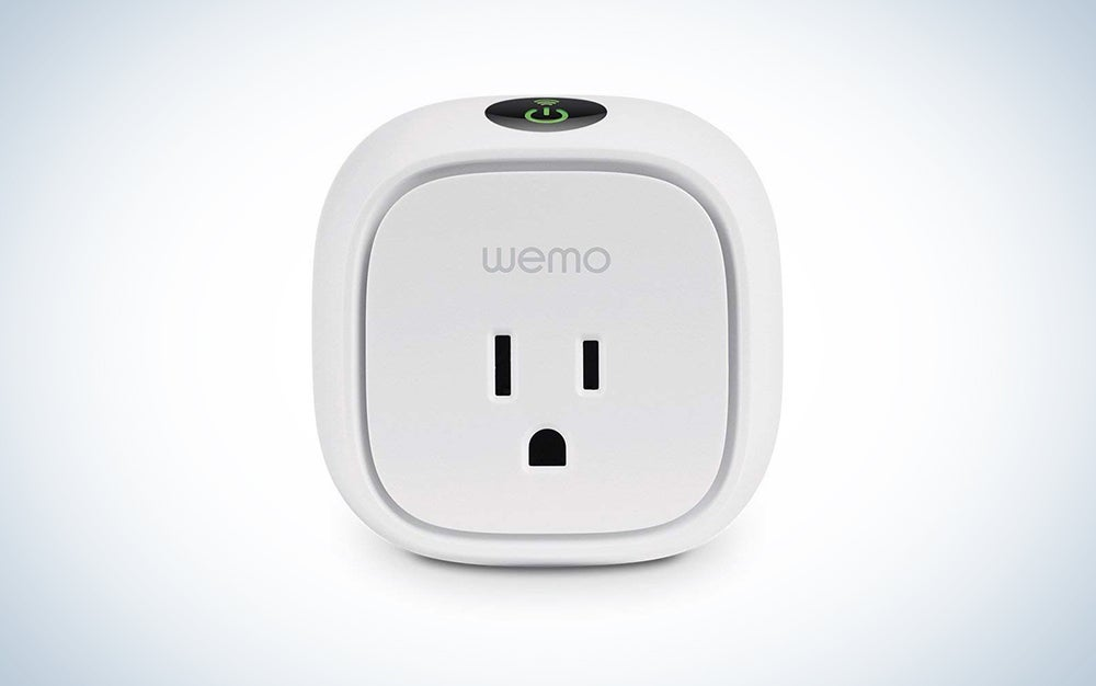 WeMo Energy monitoring smart switch