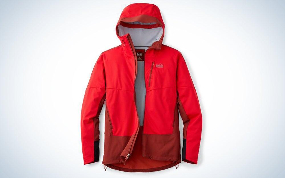 REI Co-opVaporush Windstopper jacket.
