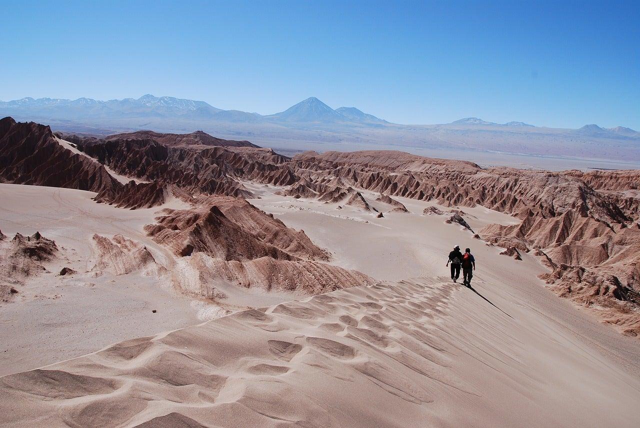 Chile Atacama desert life on Mars biosignatures