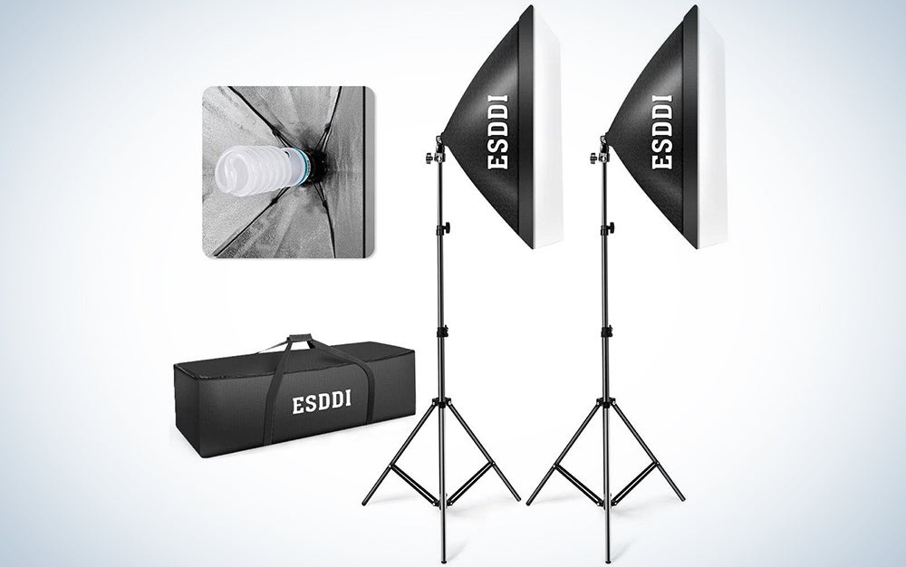 ESDDI camera lighting kit