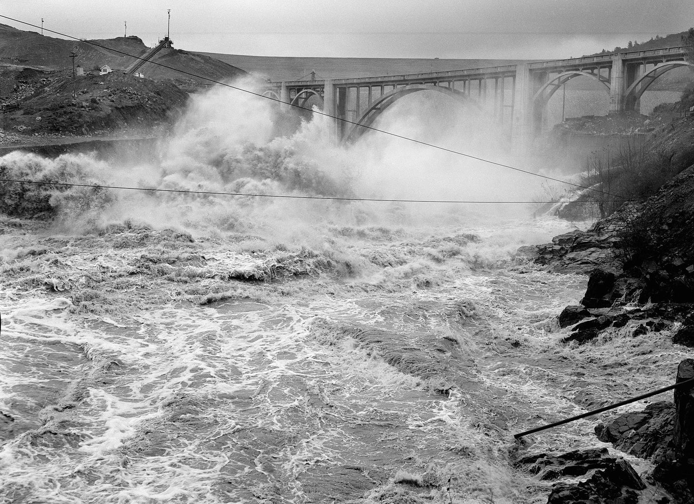 Oroville flood 1964 California floods drought