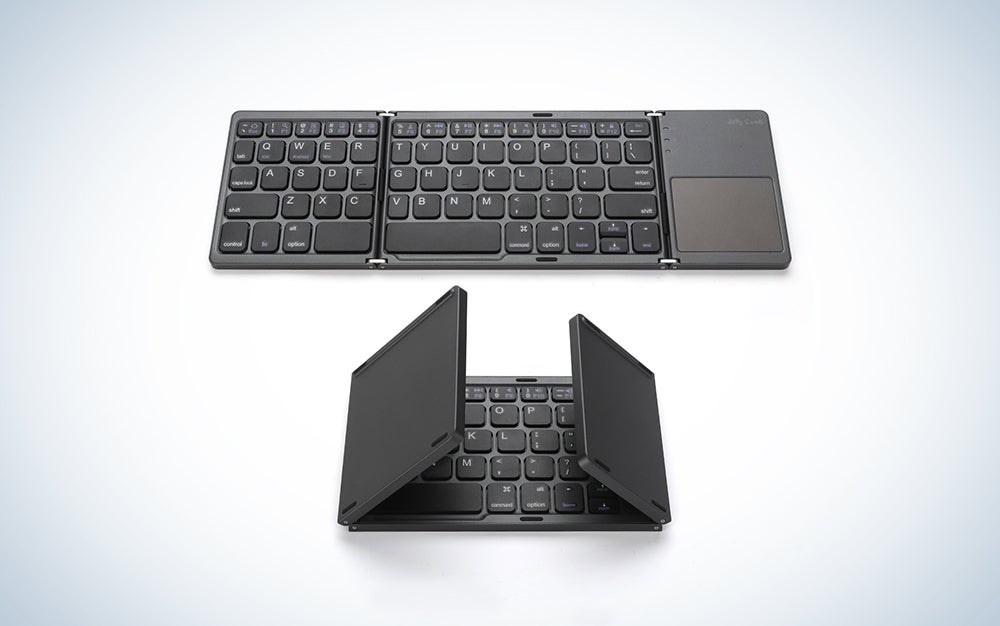 Jelly Comb foldable travel keyboard