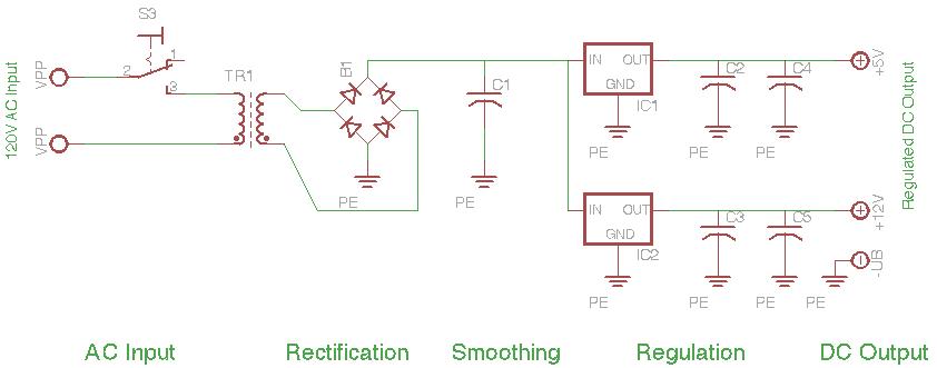 Power Supply Schematic