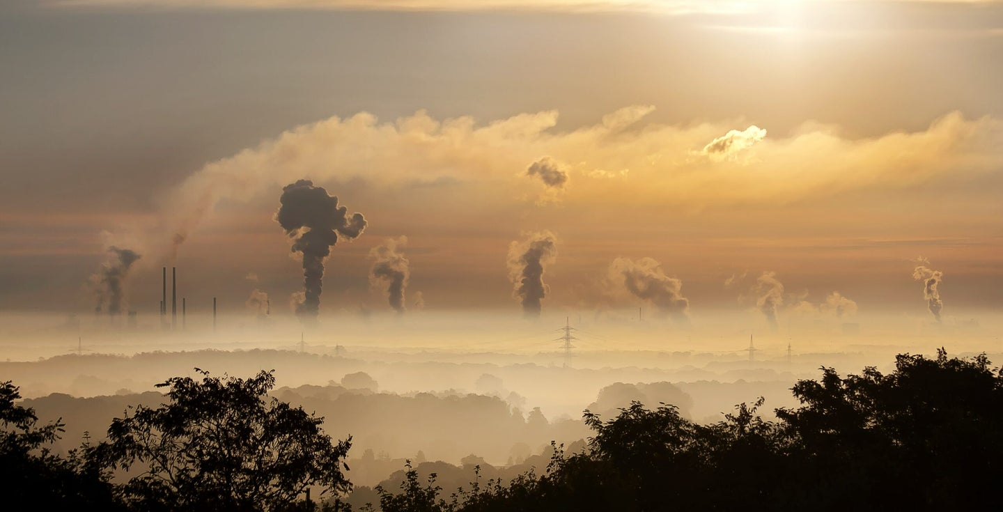 air pollution carbon fossil fuels