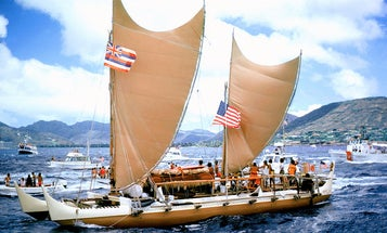 On board the canoe that proved ancient Polynesians could cross the Pacific