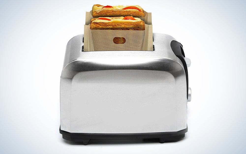 YOOCOOL Non Stick Reusable Toaster Bags