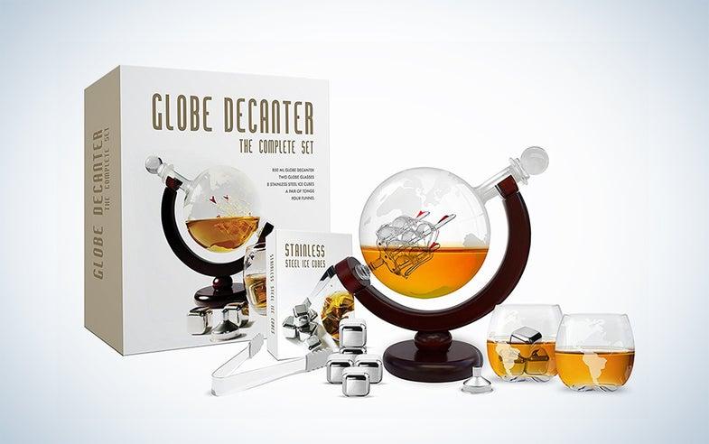 flybold Whiskey decanter set