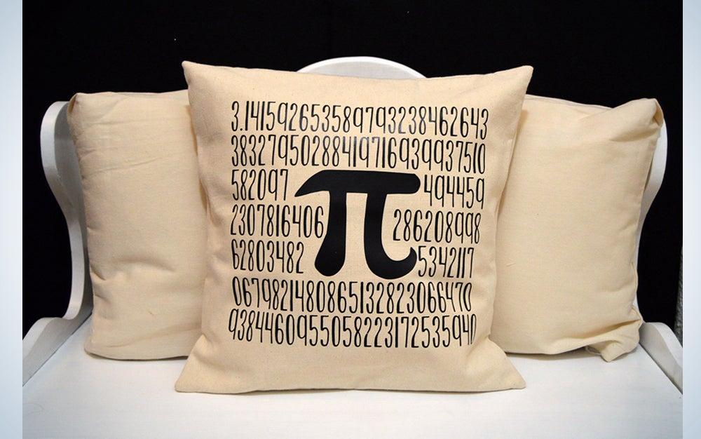 Pi Pillow Case