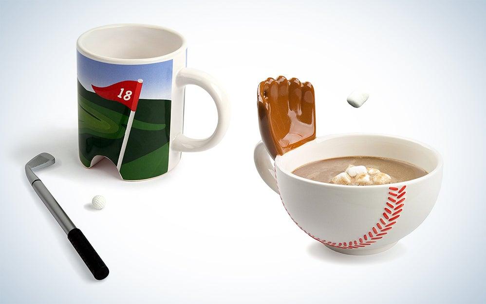 Sports coffee mugs