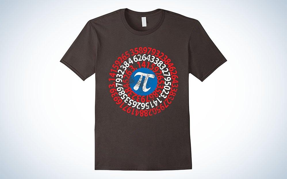 Captain America Pi shirt
