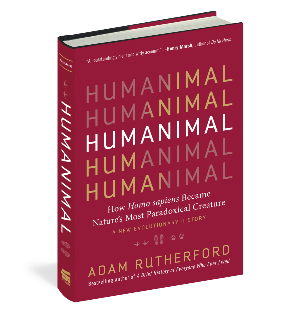 Humanimal Adam Rutherford paradoxical homo sapiens animal