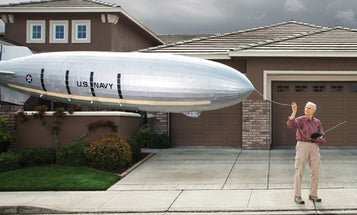 You Built What?! A Colossal Flying Reproduction of a 1935 Airship
