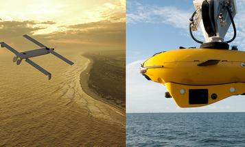 Robot Submarine Launches Drone At Command Of Autonomous Navy Ship