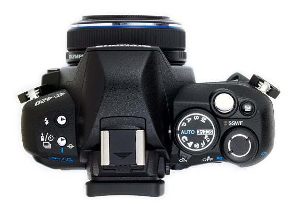Olympus E-420 with 25mm lens