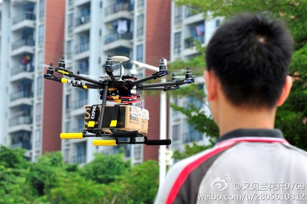 Drones Are Now Delivering Packages In One Chinese City