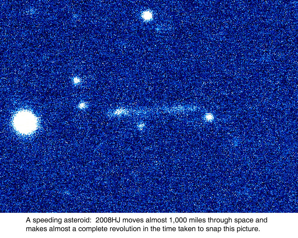Fastest-Spinning Asteroid Discovered