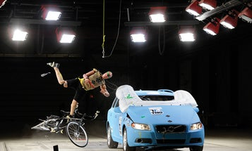 Megapixels: Car Airbags That Could Save A Cyclist's Life
