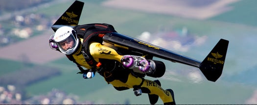 In First U.S. Flight, 'JetMan' Will Fly Through the Grand Canyon