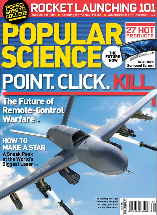 September 2009 Issue: Point. Click. Kill.
