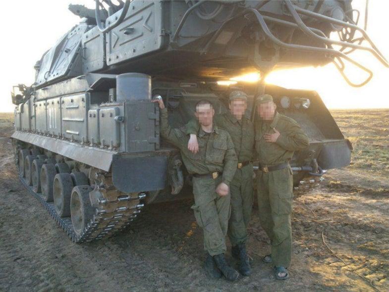 Buk Missile Launcher