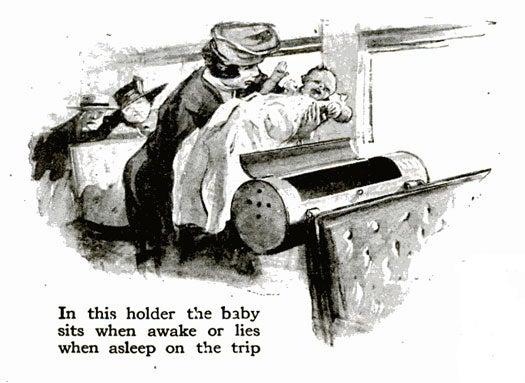 Baby Holder: October 1917