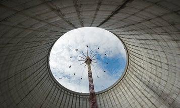 Visitors Enjoy a Nuclear Amusement Park in Germany
