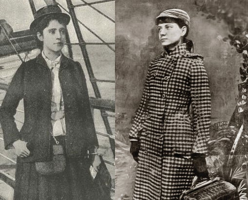 When Cosmopolitan Sent A Victorian Lady To Race Around The Globe