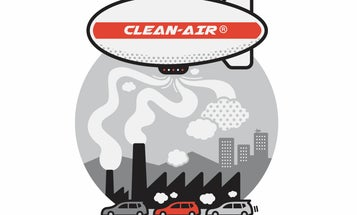 Can we just build a giant blimp to clean polluted air?