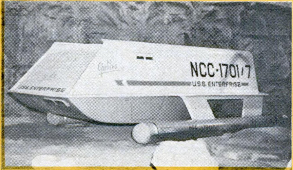 USS Enterprise carries several shuttlecraft like the Galileo, which transport six or seven men on short missions within a solar system.
