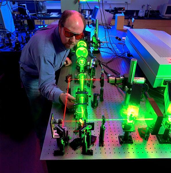Laser green light X-ray future
