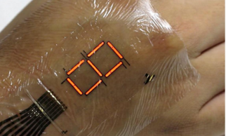 Durable Light-Up E-Skin Turns Your Body Into A Display