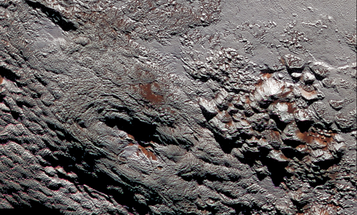 Amazing Pictures Of Pluto's (Possible) Ice Volcano