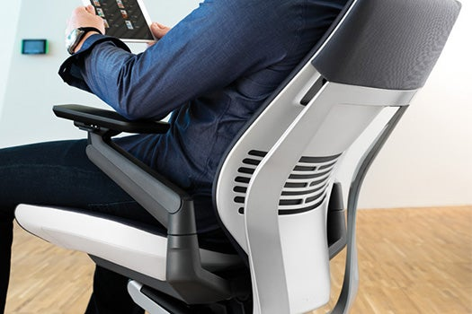 How Engineers Redesigned The Office Chair For Smartphone And Tablet Users