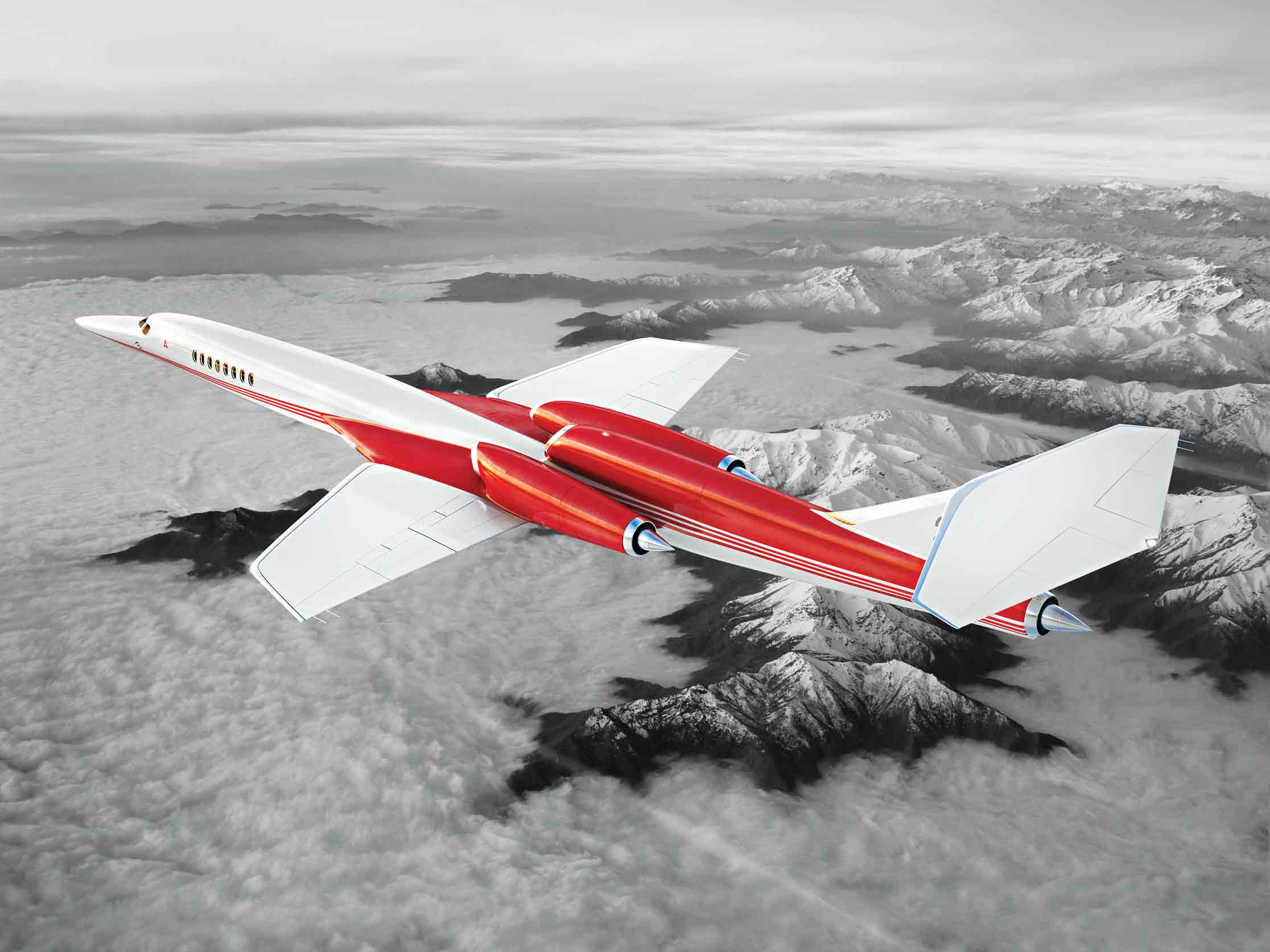 How to go supersonic without a boom