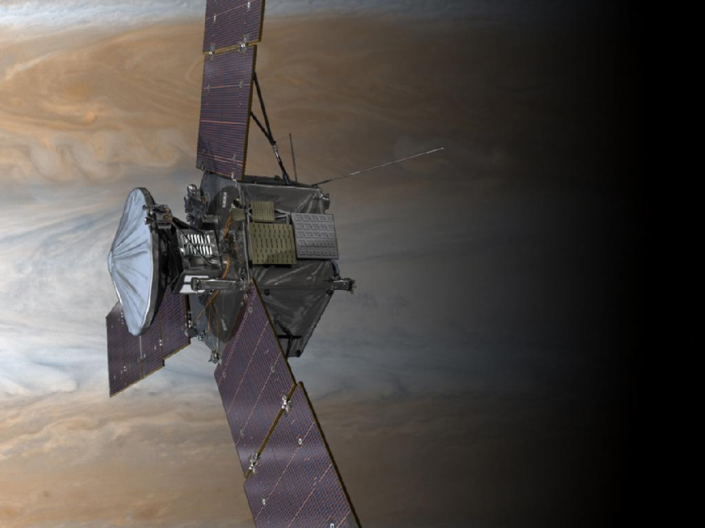 Juno Above the Clouds