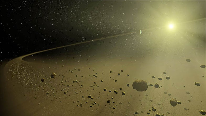 For Second Time, Ice Found Aboard Asteroid, Suggesting Water in Orbit Could Be Common