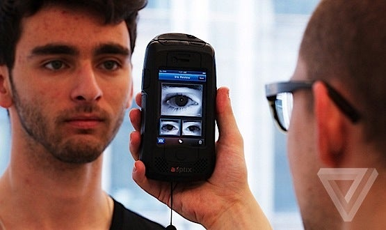 An iPhone Case For Cops That Can Scan Irises On The Fly