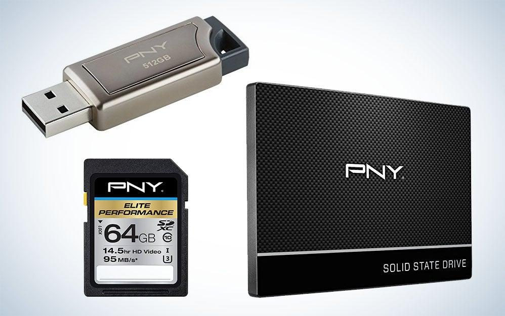 PNY memory cards