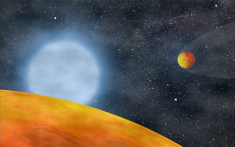 """Newly Discovered """"Fried"""" Planets Are Smallest Ever"""