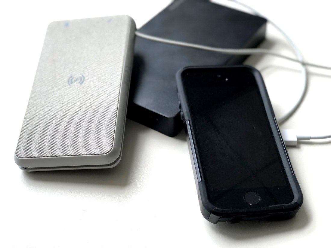 Mophie's Powerstation power packs charge via lightning for a price