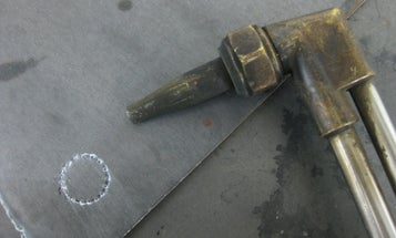 Old-Timer Trick: Cutting Holes with a Torch