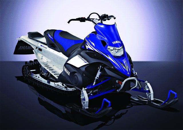 The First Snowmobile With Air Shocks Goes Farther, Faster